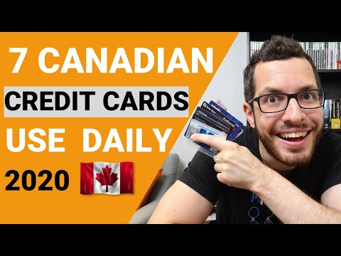 7 Best CANADIAN Cash Back Credit Cards I Use Everyday 2020 | Credit Card Guide Chapter 5