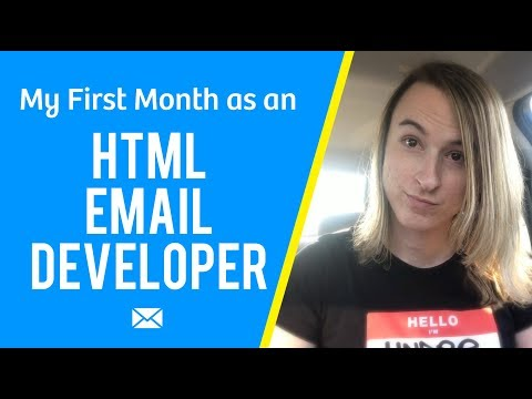 My First Month As An HTML Email Developer