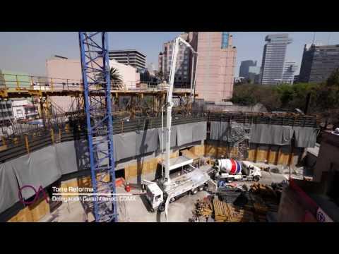 Así se construyó Torre Reforma, #ObradelAño 2016