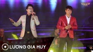 Nụ Cười Biệt Ly - Lương Gia Huy ft Duy Cường || Song Ca Bolero Để Đời || Liveshow 1 Lương Gia Huy