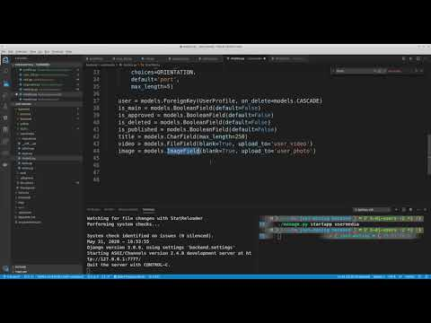 Dating web-site with Django and Angular. Part 4. from YouTube · Duration:  37 minutes 57 seconds