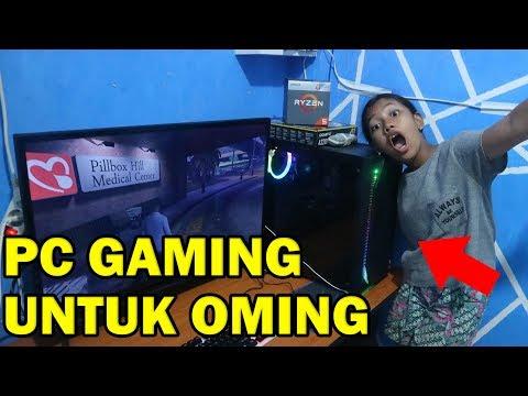 BELI PC GAMING UNTUK ADIK REAKSINYA DI LUAR DUGAAN :(