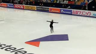 Gracie Gold. Rostelecom Cup 2018. Short program practices. 11.16.18.