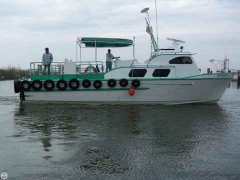 [SOLD] Used 1982 Breaux 38 Crew Boat in Buras, Louisiana