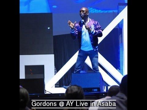 Gordons' Perfomance @ AY Live Asaba