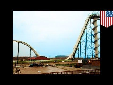World's tallest waterslide the 'Verrückt' to debut in Kansas City in May