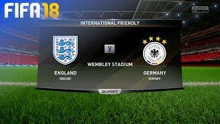 FIFA 18 - England vs. Germany @ Wembley Stadium