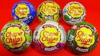 Chupa Chups surprise eggs Trolls Talking TOM Angry Birds Robocar POLI YooHoo friends For Kids