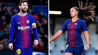 Messi vs Lieke Martens - Skills & Goals 2017/2018 HD