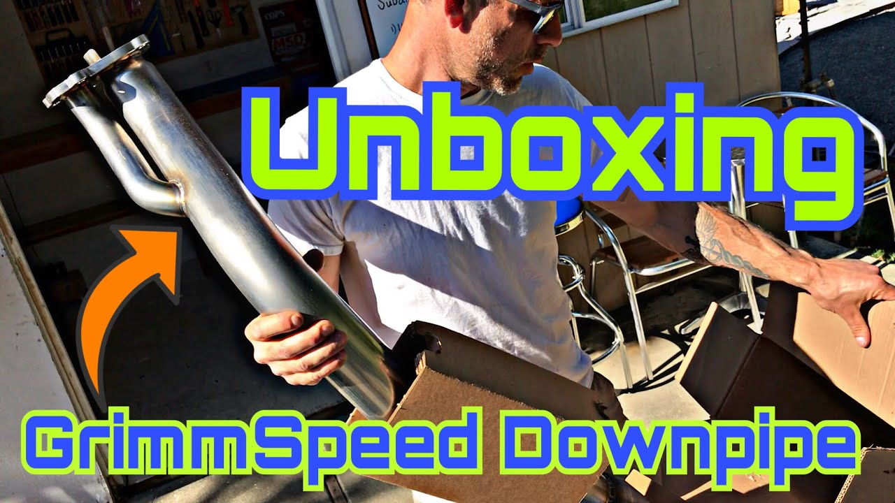 Unboxing #2 | GrimmSpeed Divorced Downpipe [Limited Edition]