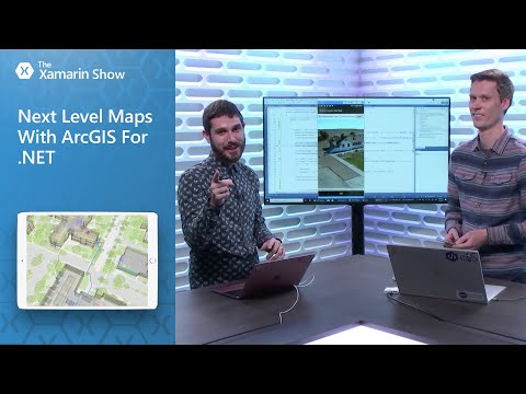 Next Level Maps With ArcGIS For .NET   The Xamarin Show