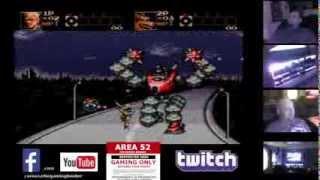 Contra Hard Corps Part 1 Sega Genesis