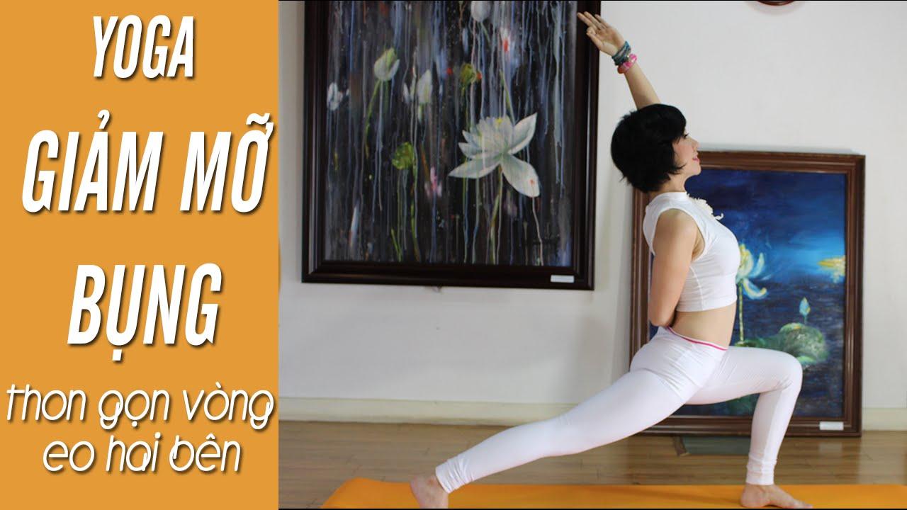 YOGA giảm mỡ bụng – Bài tập đánh tan mỡ bụng, thon gọn vòng eo hai bên (Yoga For Weight Loss)