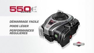 Le moteur BRIGGS & STRATTON 550E séries