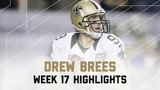 Drew Brees 350 Yards & 2 TDs! | Saints vs. Falcons | NFL Week 17 Player Highlights