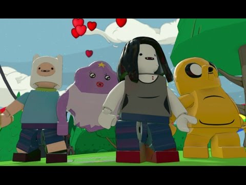 LEGO Dimensions - All 4 Adventure Time Characters + Free Roam Gameplay (Adventure Time World)