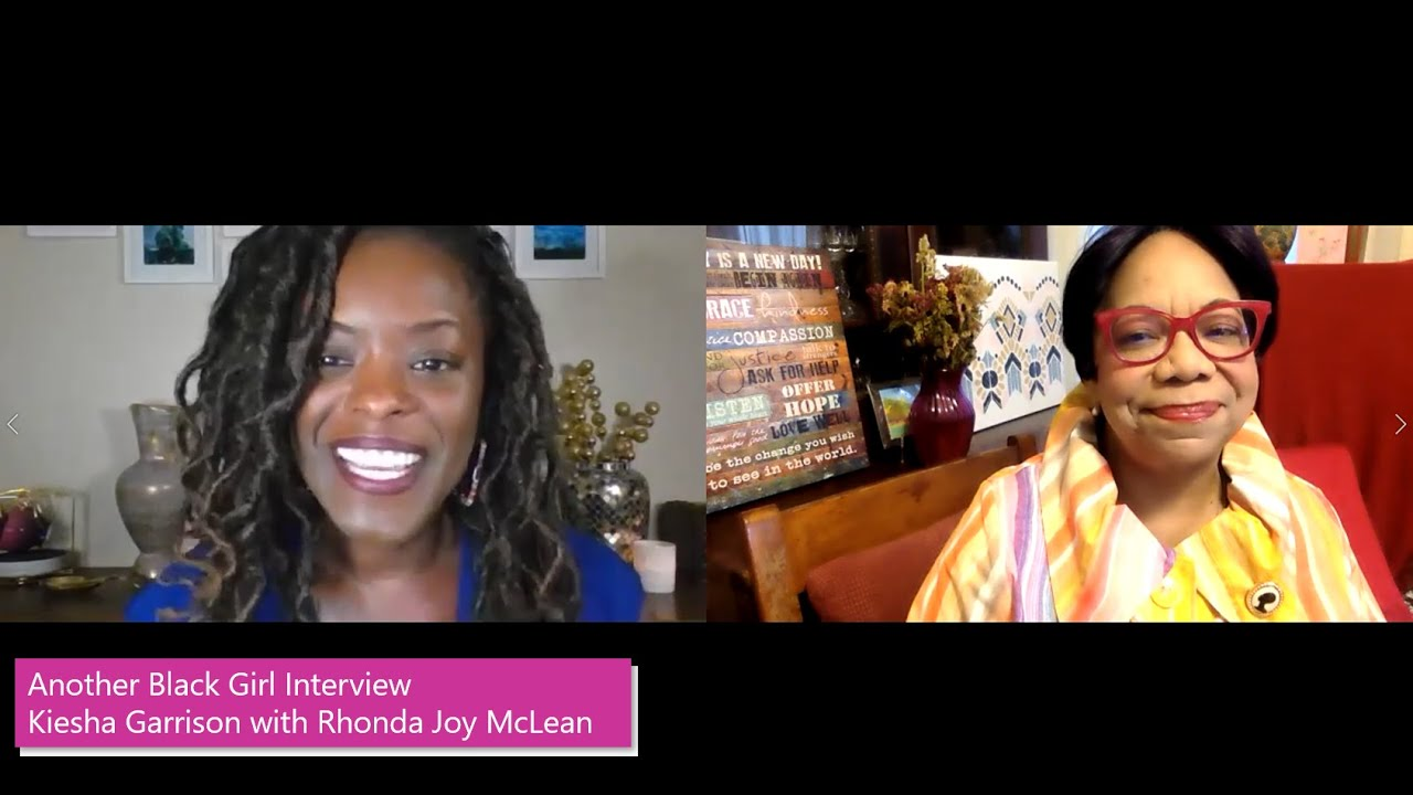 Kiesha Garrison interviews CEO & Author Rhonda Joy McLean - Sometimes You Just Have to Stand