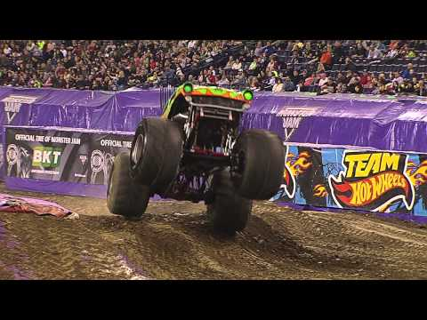 Monster Jam - Avenger Freestyle in Indianapolis - January 25, 2014