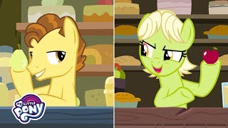 MLP: Friendship is Magic Season 7 - ' The Story of the Apple 🍎 & Pear 🍐 Family Feud' Official Clip