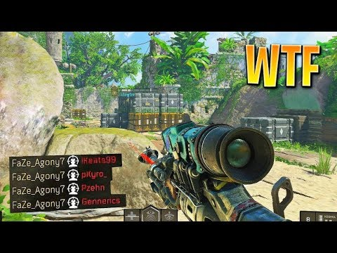MY FIRST INSANE CLIP ON BO4!! (Call of Duty: Black Ops 4 Sniping Gameplay)