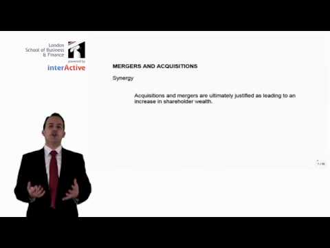 LSBF ACCA P4: Introduction to Mergers and Acquisitions