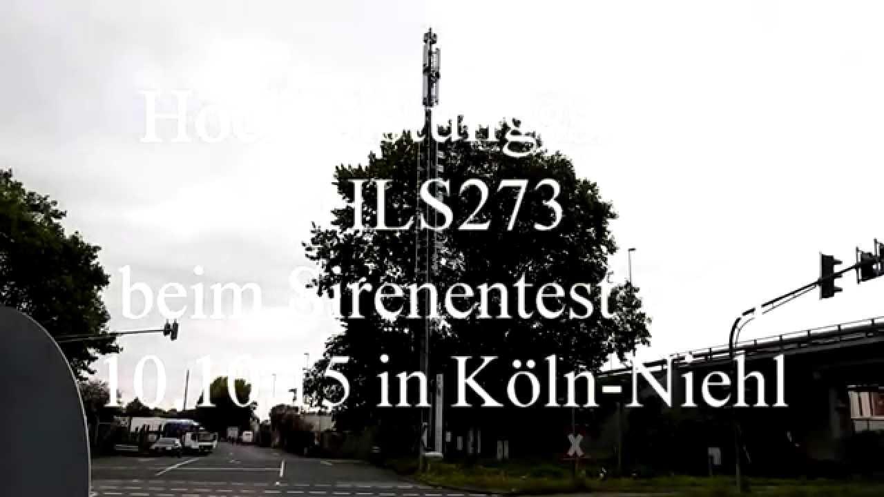 Sirenentest Köln