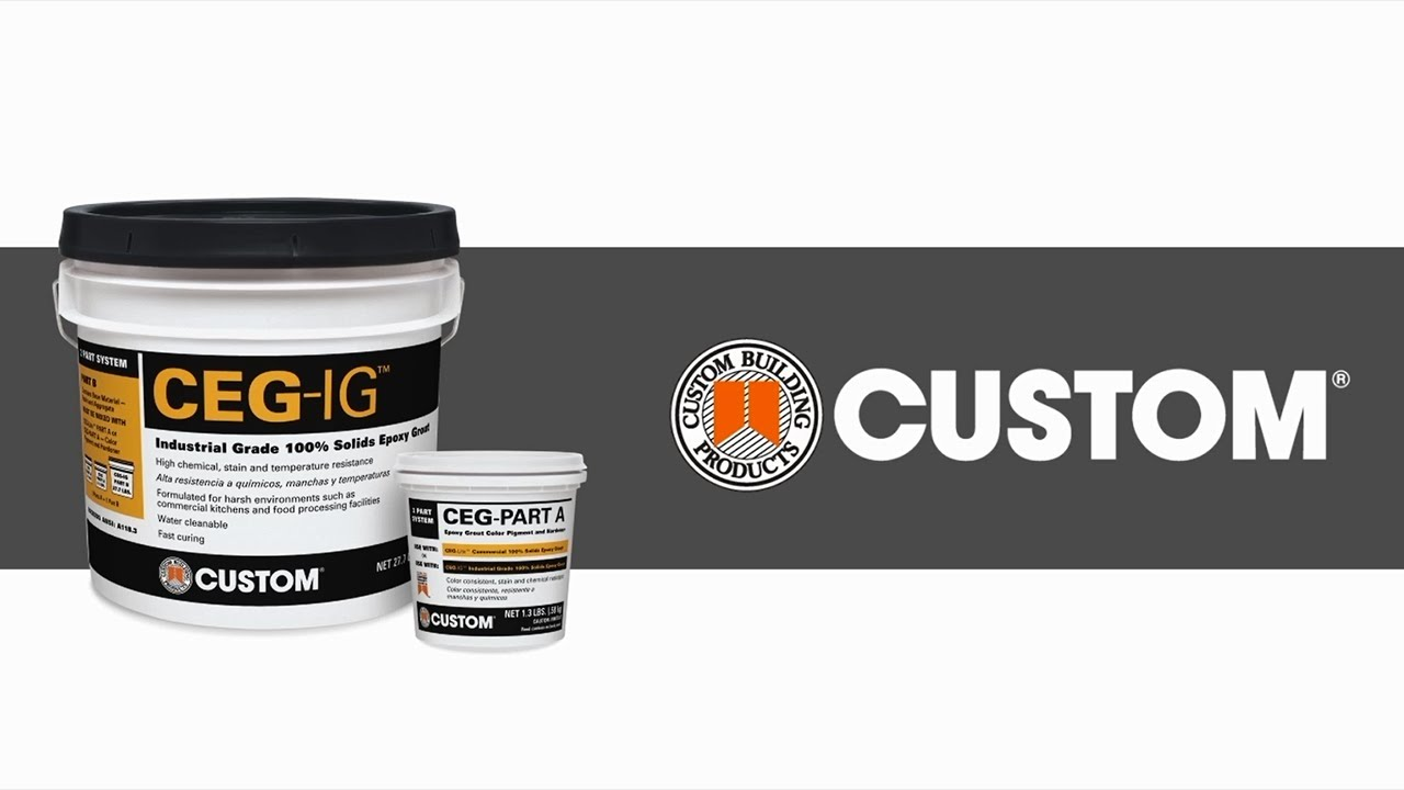 CEG-IG Commercial Epoxy Grout Chemical Test | Custom