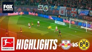Leipzig 0-1 Borussia Dortmund   HIGHLIGHTS   Jornada 18   Bundesliga