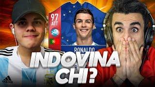 INDOVINA CHI con le CARTE DEI MONDIALI 2018!!!! - ENRY LAZZA vs OHM