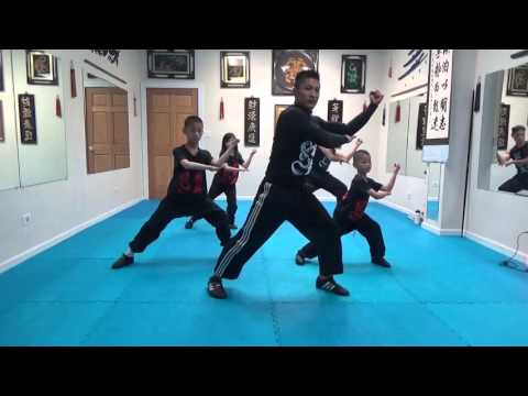 Split Flexibility Training - Tiger Form - Dance - Kung Fu Kids - Jan 3 2016