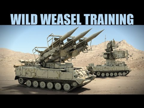 INSANELY DIFFICULT Wild Weasel & SEAD Handicapped Training | Harrier & Viggen | DCS WORLD