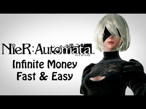Nier: Automata - Infinite Money *FAST and EASY*