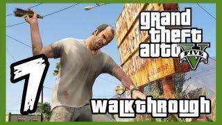 "Grand Theft Auto V Walkthrough PART 7 [PS3] Lets Play Gameplay TRUE-HD QUALITY ""GTA 5 Walkthrough"""
