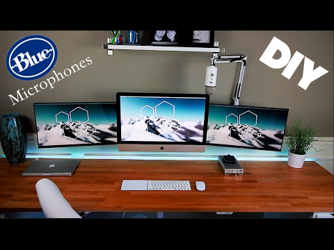 DIY - Blue Yeti Microphone Wall Mount
