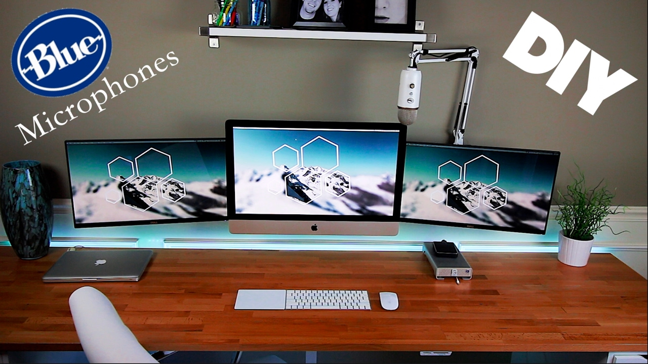 Diy Pvc Triple Monitor Stand Diy Decorating Ideas