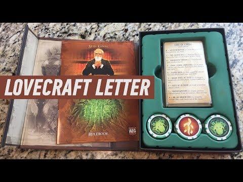 Геймплей #96 - Lovecraft Letter