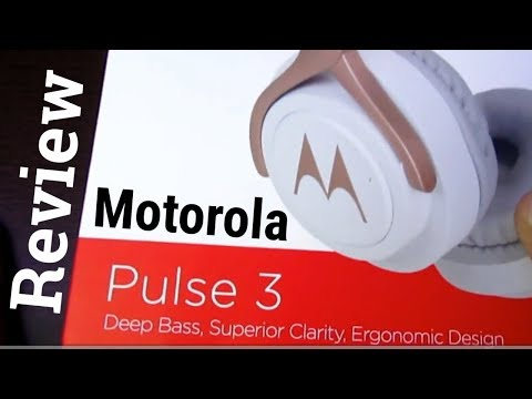 Motorola Pulse 3 Wired Headphones Unboxing & Review in Hindi - Unboxing Wala