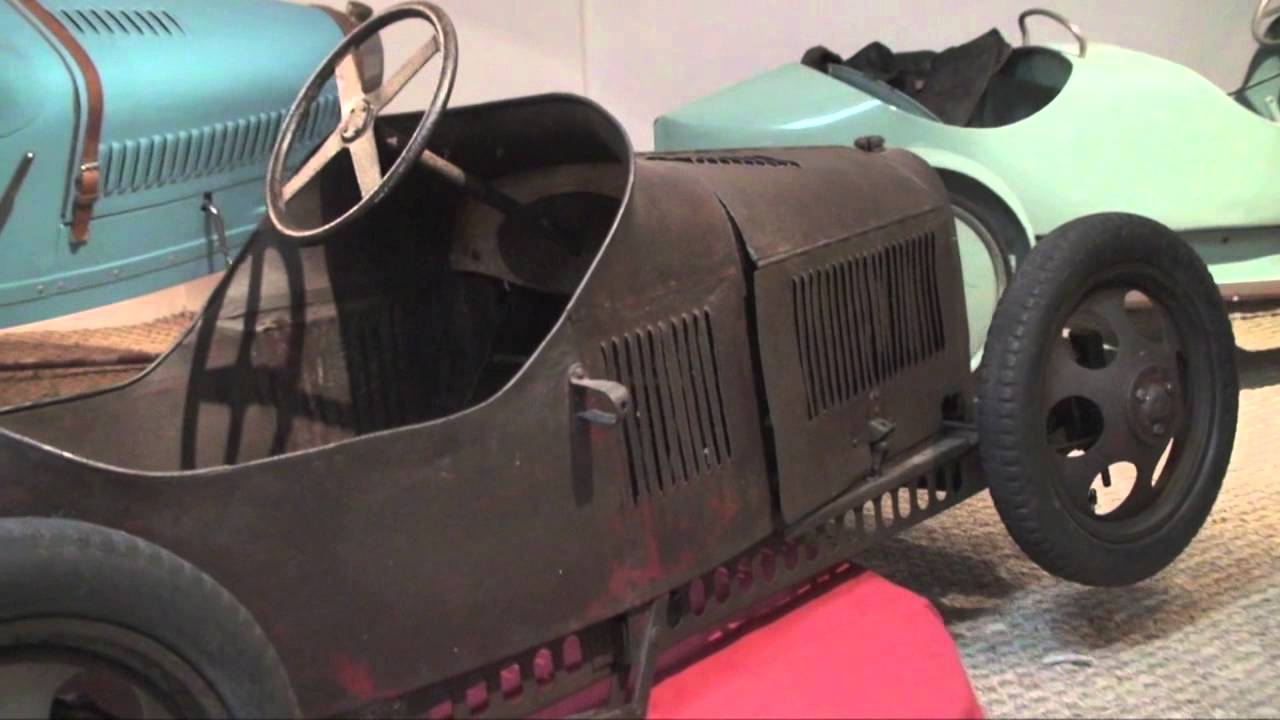 eureka grand prix course usine voiture a pedales bugatti pedalcar
