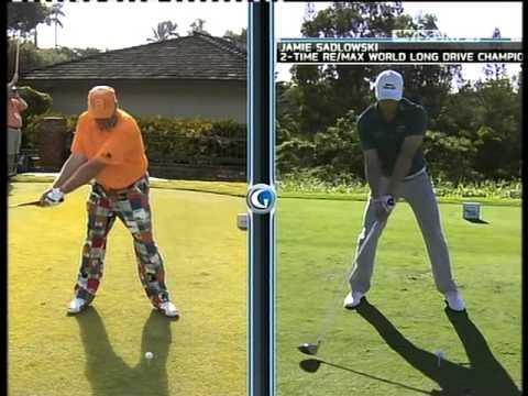John Daly vs. Jamie Sadlowski Golf Swing Analysis