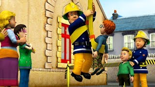 Fireman Sam US New Episodes HD | Bus at full speed- Alarm Sam | S10 Big Collection 🚒 🔥 Kids Movies