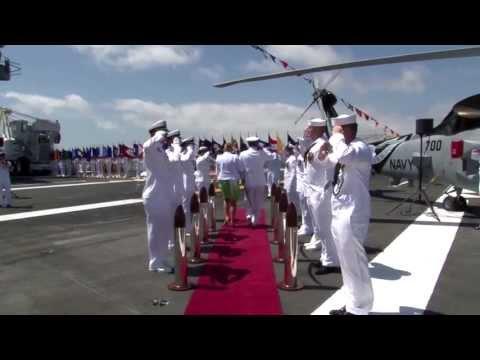 U.S. Third Fleet Holds Change of Command