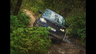 OFF ROAD Range Rover vs Pajero Sport