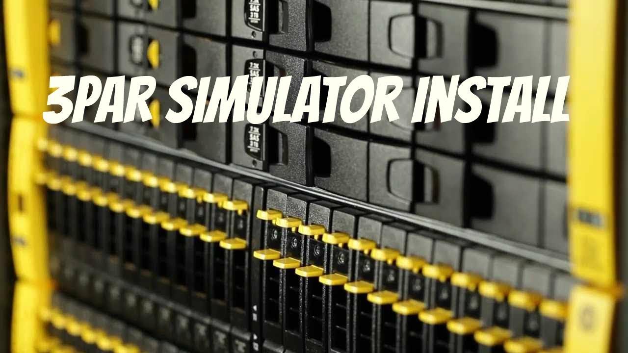 3PAR Simulator Install - Part 1