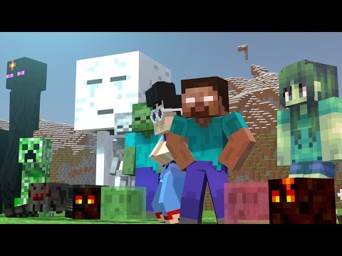 Minecraft Monster School Girls vs Boys Challenges Live