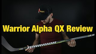 Warrior Alpha QX Detailed hockey stick review