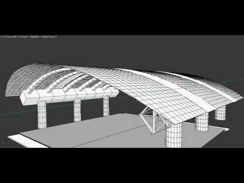 Dise o cubierta canchas de tenis quito tenis y golf club for Plafones de techo y pared