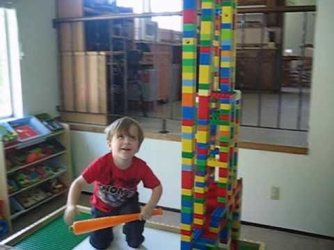 Lego Tower Destruction 2