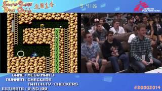 Summer Games Done Quick 2014 - Part 34 - Mega Man 3