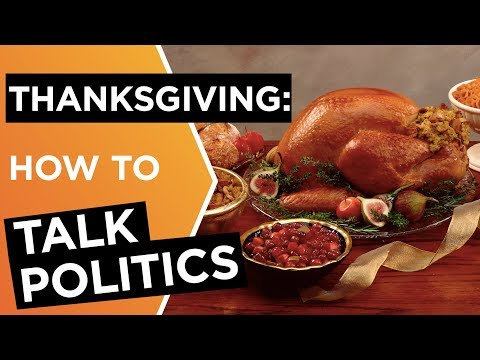 Talking politics: A Thanksgiving guide to divisive conversations | Debra Mashek