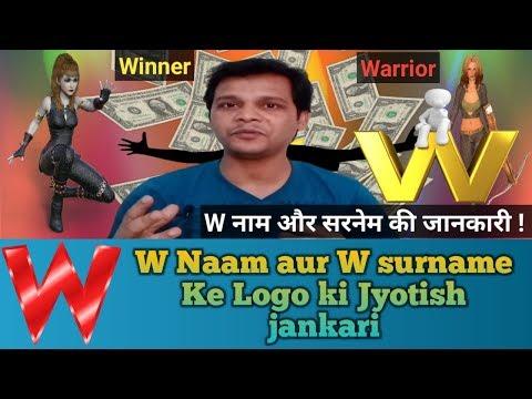 W Naam Aur W Surname Ke Logon Ki Jankari | W Naam Ki Jyotish | Letter W name | W Naam Ki Jankari